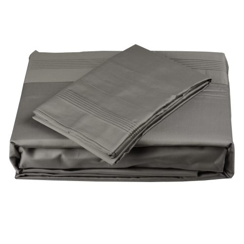 600TC Sheet Set Grey