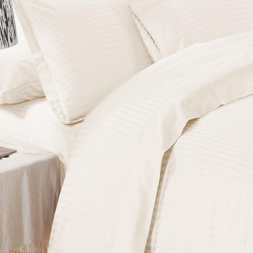 Elite Jacquard Sheet Set Ivory